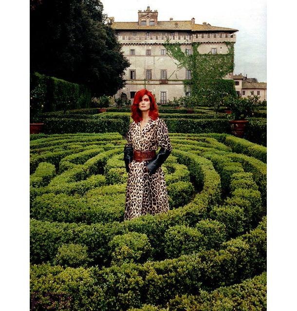 Malgosia Bela for W Magazine August 2014-6