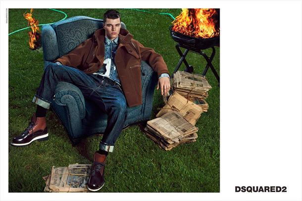 Dsquared2 Fall Winter 2014 Campaign