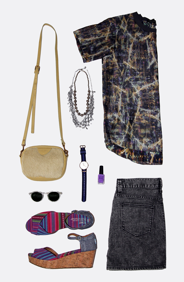 Sidewalk Hustle x Osheaga x Winners- Outfit Grid