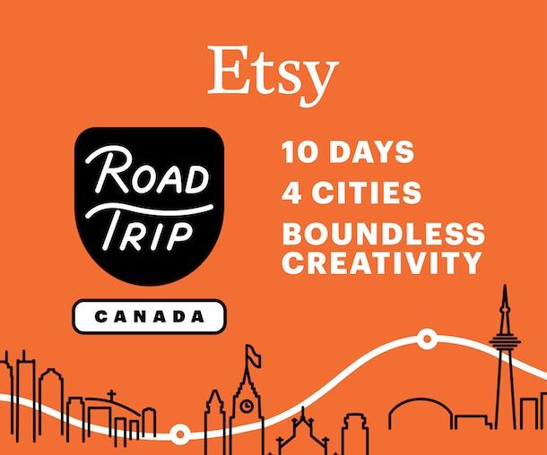 Etsy Road Trip 2014