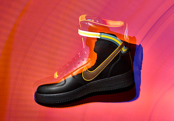 Riccardo Tisci x Nike Air Force 1 Black Collection-1