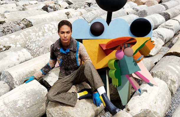 Joan Smalls for Missoni Fall Winter 2014:15-10
