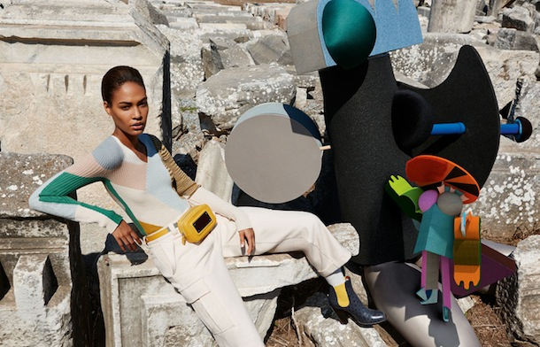 Joan Smalls for Missoni Fall Winter 2014:15-2