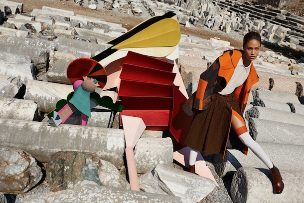 Joan Smalls for Missoni Fall Winter 2014:15
