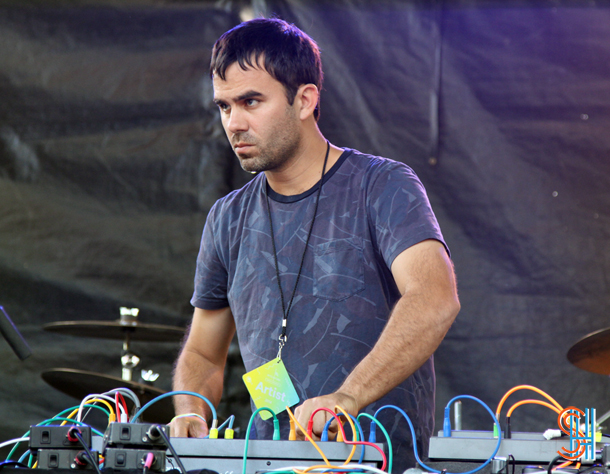 Factory Floor at Pitchfork Music Festival 2014, Chicago-3