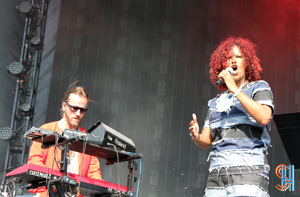 Neneh Cherry Pitchfork Music Festival 2014