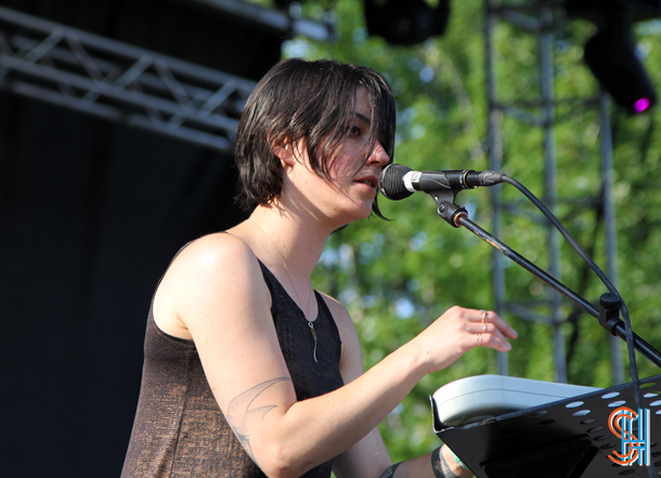 Sharon Van Etten at Pitchfork Music Festival 2014 Chicago