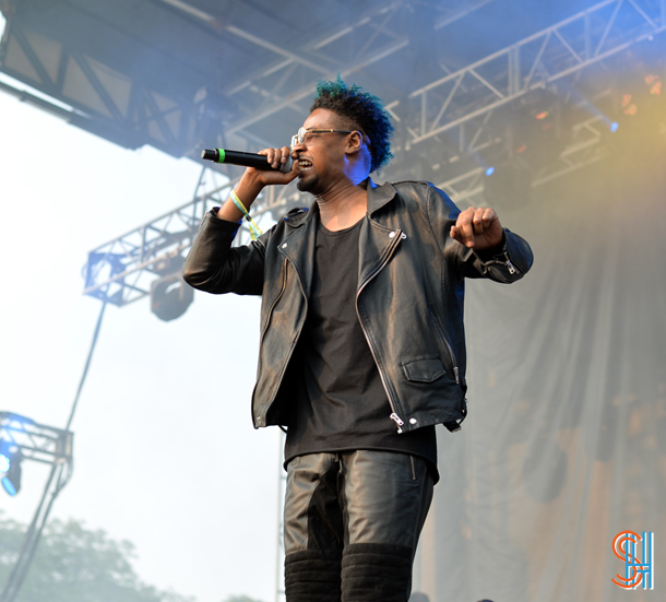 Danny Brown at Pitchfork Music Festival 2014-2