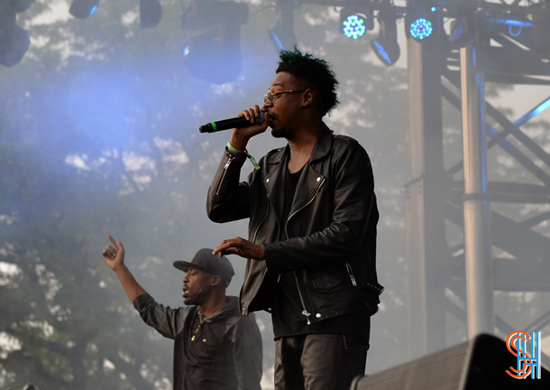 Danny Brown at Pitchfork Music Festival 2014