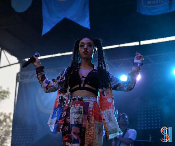 FKA Twigs at Pitchfork Music Festival 2014-2