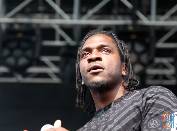 Pusha T at Pitchfork Music Festival 2014 Chicago-6