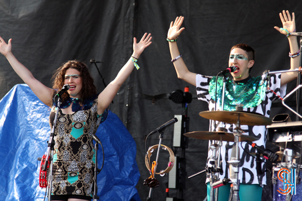 Tune-Yards at Pitchfork Music Festival 2014-2
