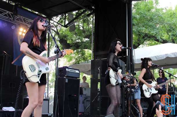 Dum Dum Girls Pitchfork Music Festival 2014