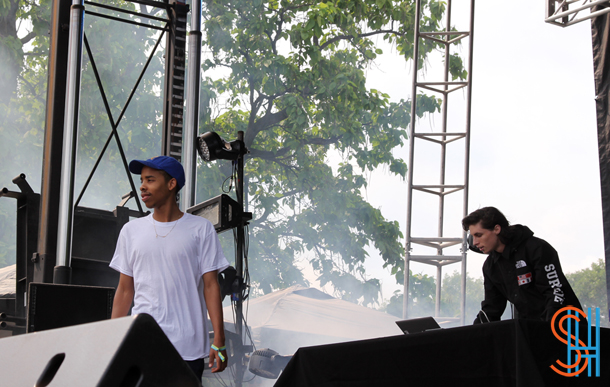 Earl Sweatshirt at Pitchfork Music Festival 2014-3