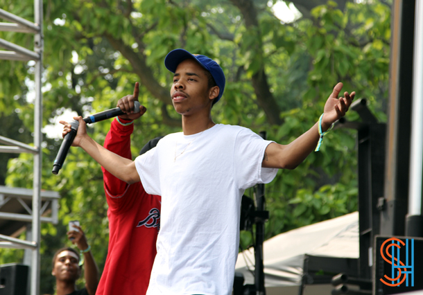 Earl Sweatshirt at Pitchfork Music Festival 2014