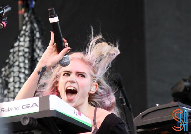 Grimes at Picthfork Music Festival 2014