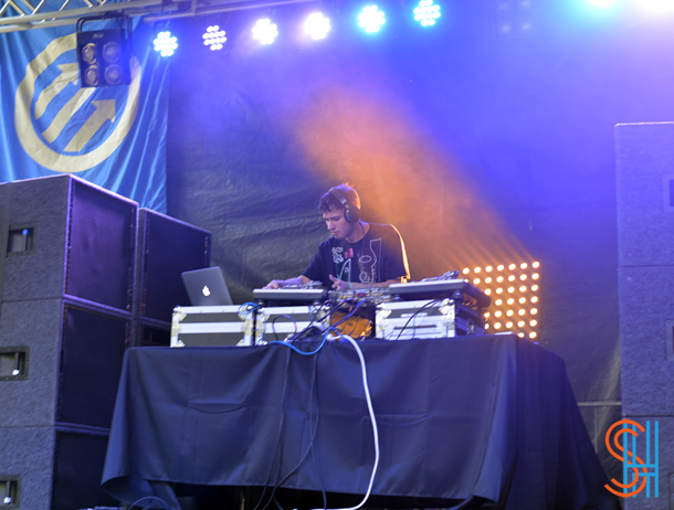 Hudson Mohawke at Pitchfork Music Festival 2014