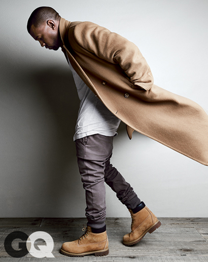 Kanye West for GQ August 2014-2