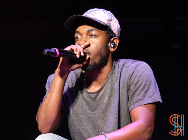 Kendrick Lamar at Picthfork Music Festival 2014