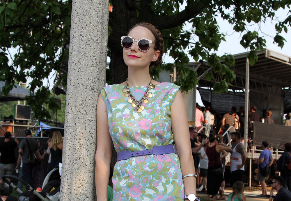 What I Wore Pitchfork Music Festival 2014
