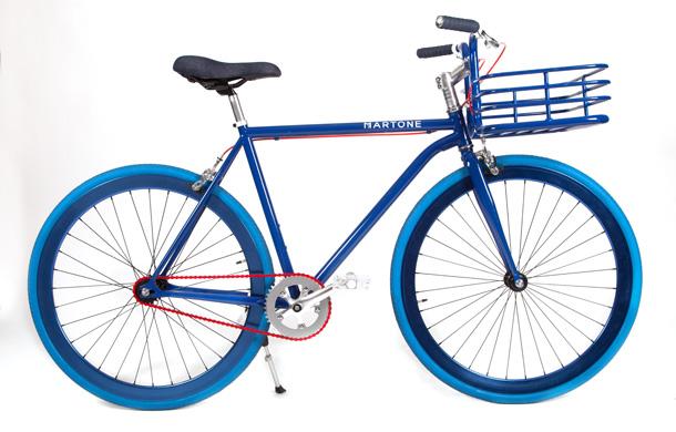 Martone Cycling Co Blue Mens