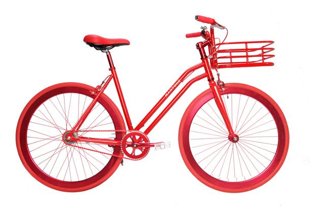 Martone Cycling Co Red Gramery
