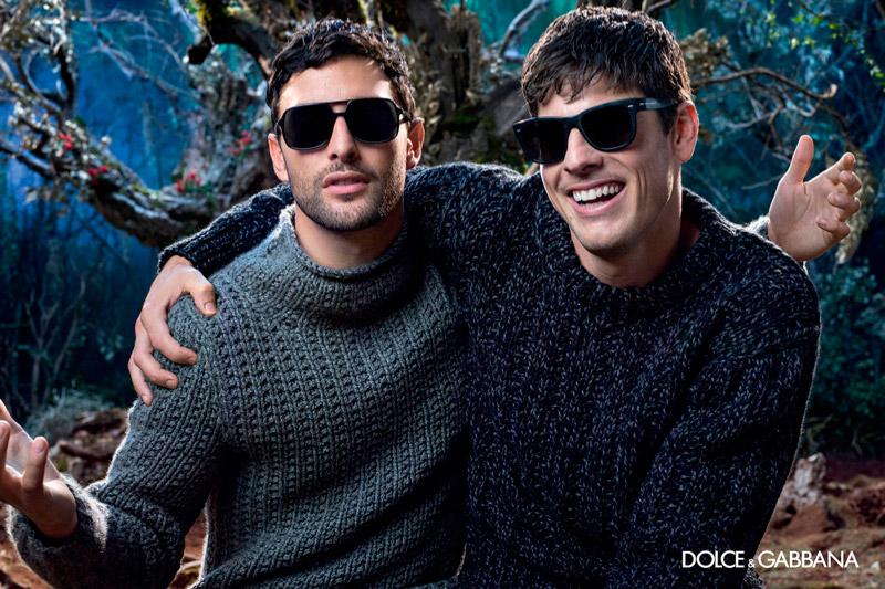 Dolce Gabbana Fall Winter 2014 Eyewear Campaign-1