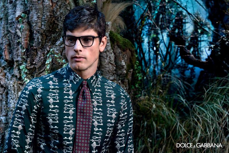 Dolce Gabbana Fall Winter 2014 Eyewear Campaign