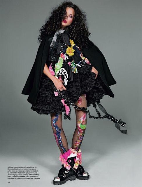 Adriana Lima & Christy Turlington for LOVE No.12 F:W 2014-8