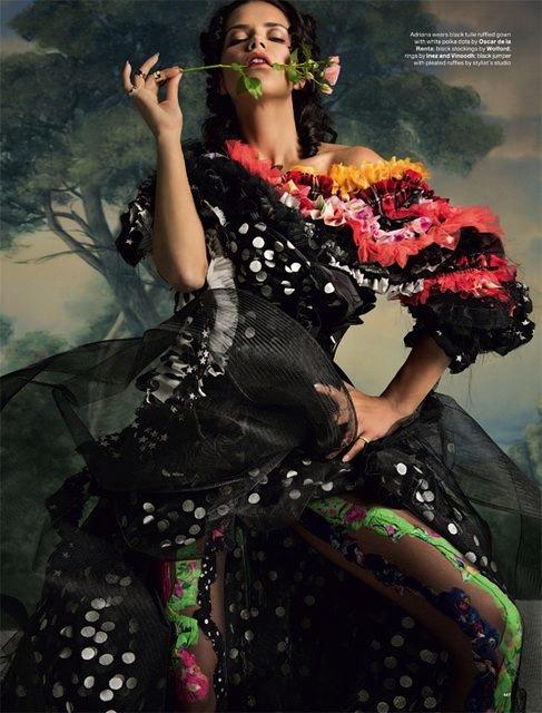 Adriana Lima & Christy Turlington for LOVE No.12 F:W 2014-9