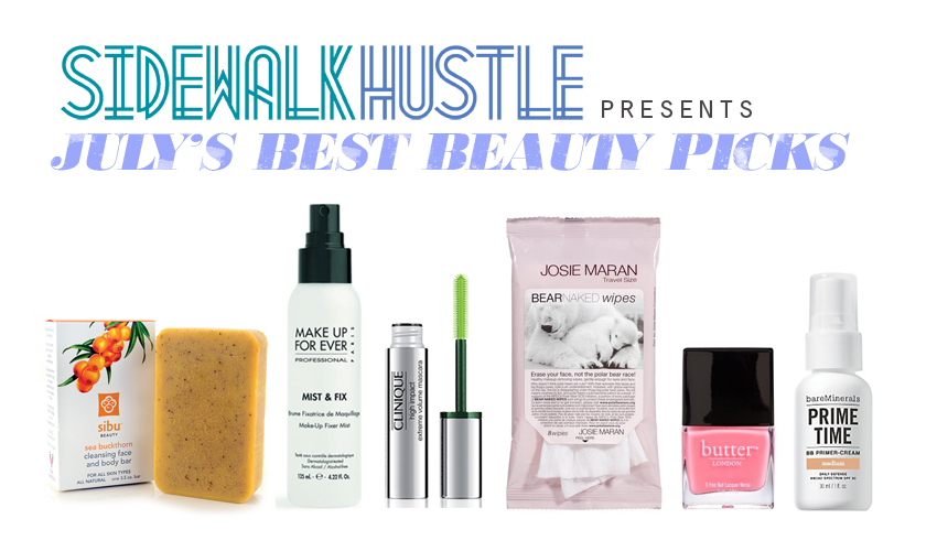 July's Best Beauty Products