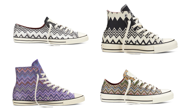 Converse x Missoni Chuck Taylor All Star Fall 2014 Collection