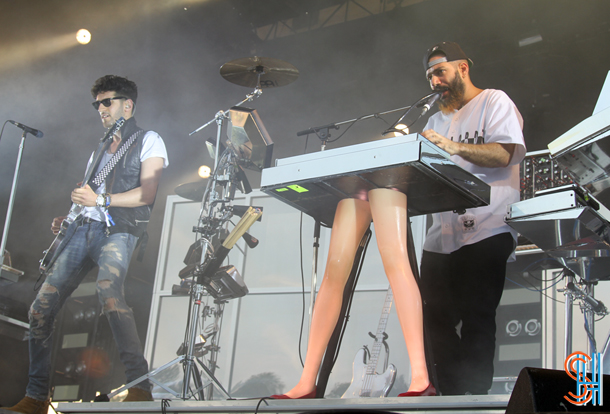 Chromeo at Osheaga 2014 Montreal