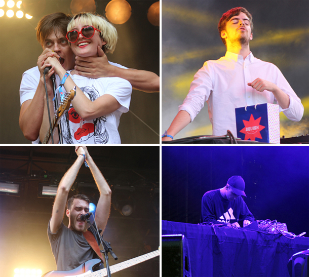 Osheaga 2014 July Talk, Ryan Hemsworth, Childish Gambino, Bear Mountain, Flume, Jacques Greene