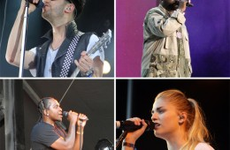 Osheaga 2014 OutKast, Band of Horses, Chromeo, London Grammar, Pusha T