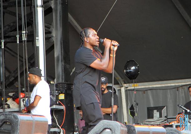 Pusha T Osheaga 2014 Montreal