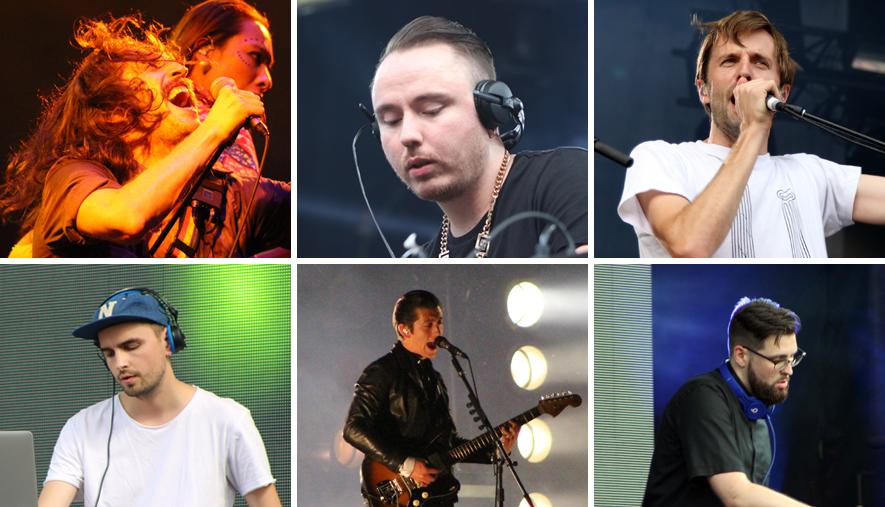 Osheaga 2014 Arctic Monkeys, Gogol Bordello, Cut Copy, Duke Dumont, Tchami, Cyril Hahn