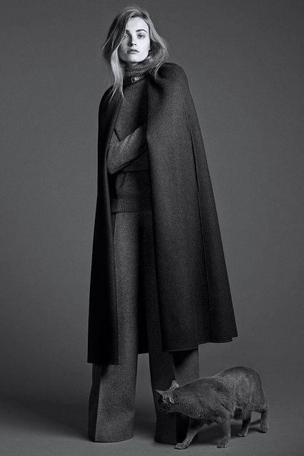 Anna Jagodzinska for WSJ Magazine September 2014-2