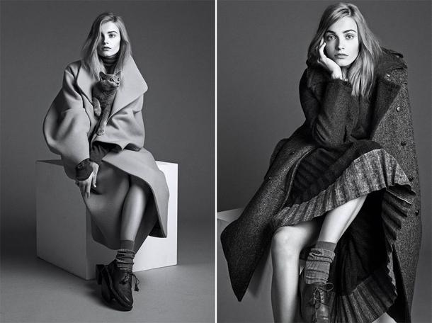 Anna Jagodzinska for WSJ Magazine September 2014