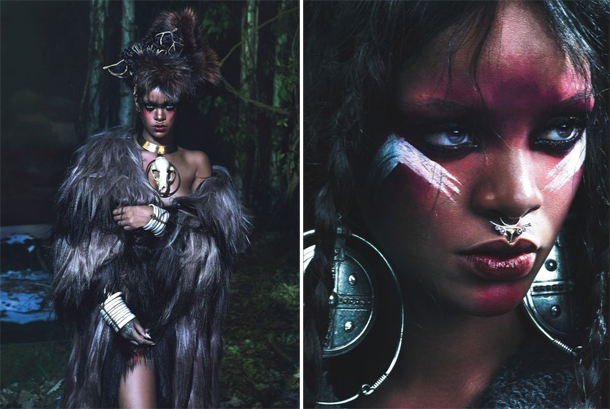 Rihanna for W Magazine September 2014-2