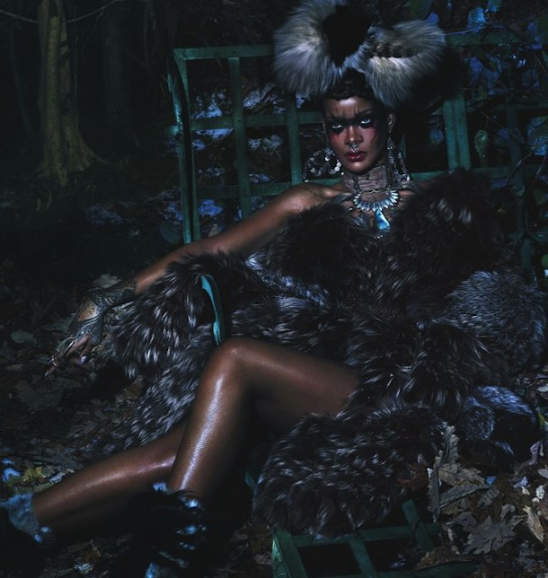 Rihanna for W Magazine September 2014-5