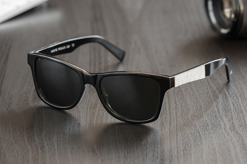 Shwood Acetate Amp Stone Fifty Fifty Sunglasses Sidewalk