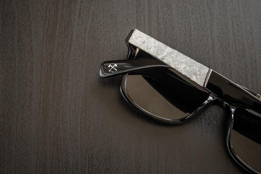 Shwood Acetate Stone Sunglasses