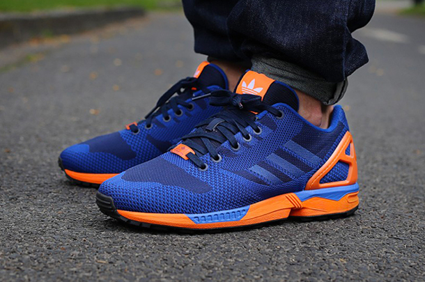 basket adidas zx flux orange