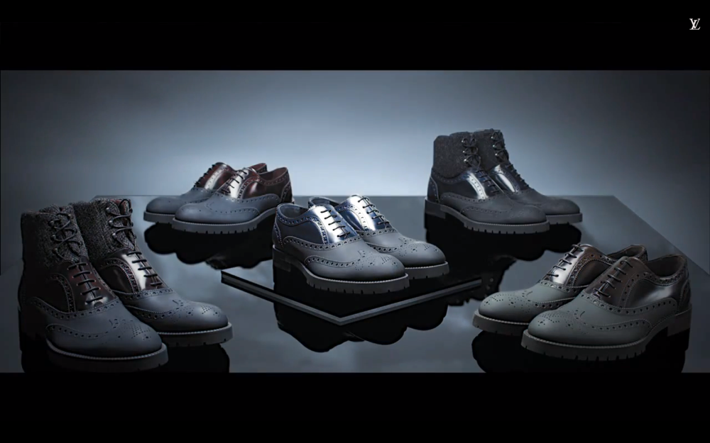 Louis Vuitton Fall 2014 Mens Shoe Collection Video