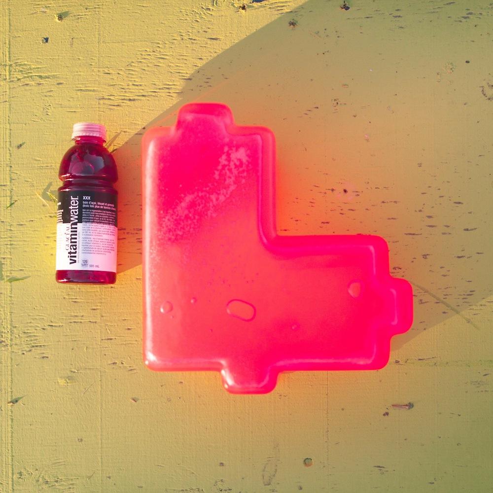 Vitamin Water BrilliantWorksLovebot Heart