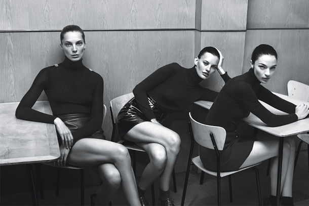 Super Normal Super Models for W Magazine by Mert Marcus-4
