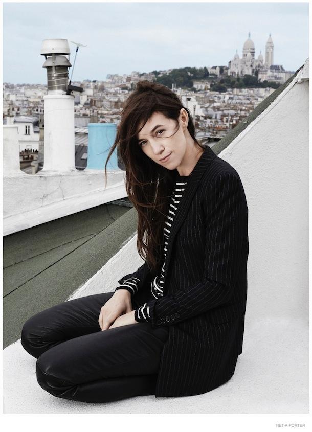 Charlotte Gainsbourg for The Edit September 2014-2
