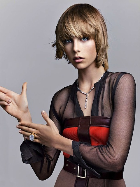 Edie Campbell for Vogue September 2014-2