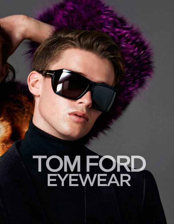 Tom Ford Fall Winter 2014 Eyewear Campaign